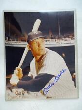 Vintage Mickey Mantle Baseball New York Yankee Signed Autograph Photograph Photo