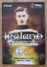 2016 Republic of Ireland v Switzerland - International Friendly Programme