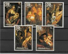 AITUTAKI MNH SET SC#423-427 CHRISTMAS SCV$12.75 VERY PRETTY SET CC