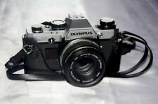 VINTAGE ANTIQUE OLYMPUS JAPAN OM10 SLR CAMERA, INTRODUCED 1979