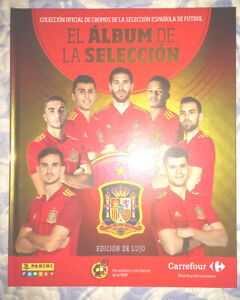 Album completo Selección Española Futbol ,84 cromos adheridos + Regalo Carrefour