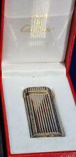 Vintage Cartier Paris Lighter in Box Tobacco Cigarette Pipe