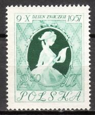 Poland - 1957 Stamp Day - Mi. 1030 MNH