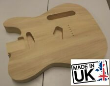 Telecaster style body, 2pc Poplar, unfinished, 100% UK Made