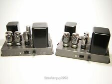 Pair of Vintage Heathkit A-9 Tube Amplifiers / KT-88 - KT2