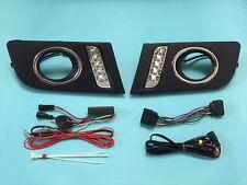 LED DRL Fog Light Cover Daytime Running Light FOR '09-'14 Volkswagen Amarok