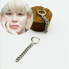 1PC KPOP BTS Jimin Earrings Bangtan Boys Ring Chain Love Yourself Fashion