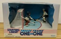 Jaromir Jagr Patrick Roy Starting Lineup Freeze Frame One on One NHL 061219DBT4