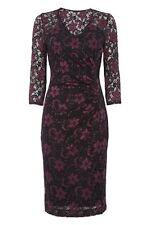 Women's V Neck 3/4 Sleeve No Pattern Stretch, Bodycon Dresses