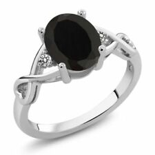 Natural Not Enhanced Onyx Fine Rings