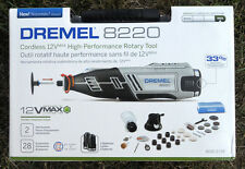New Dremel 8220-2/28 12-Volt Max Cordless Rotary Tool 28 Accessories Attachments