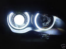 DEPO UHP LED Angel Eye Halo Projector Headlight + Xenon HID For 02-06 BMW E46 M3