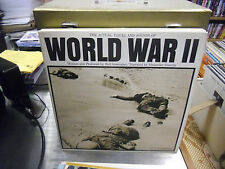 Alexander Scourby Actual Voices of World War II vinyl 2x LP Riverside Record EX