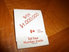 New Old Stock Canada Invites You To Win $1 Million matchbook