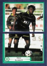 PANINI-CELTIC-THE BHOYS-1999/2000 #042 & 043-CELTIC-REGI BLINKER IN ACTION