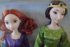 Disney Pixar Brave Merida  & Queen Elinor Doll Giftset