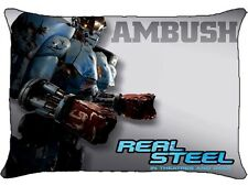 New Real Steel AMBUSH  Pillow Case Bedroom Decor Gift