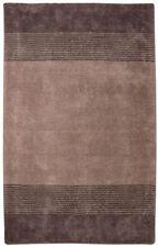 Tapis modernes pour la maison en 100% laine, 120 cm x 120 cm