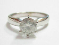 .72Ct Round Cut Diamond Solitaire Engagement/Anniversary Ring Size 5.5 I I2 14k