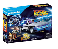 Playmobil 70317 Back to the Future Delorean Retour vers le futur - DeLorean