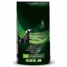 2 X Purina Pro Plan Veterinary Diets Canine HA Hypoallergenic Dog Food 11kg