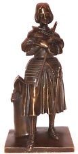 Antike Bronze Figur Jeanne d`Arc  ca. um 1850