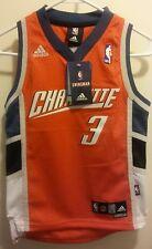 Adidas Charlotte Bobcats Gerald Wallace #3 Sewn SWINGMAN Jersey SIZE 8 SMALL NWT