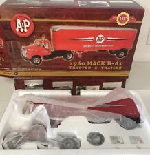 2003 First Gear A&P Supermarkets 1960 MACK B-61 TRACTOR TRAILER 1/34 ~NEW IN BOX