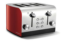 Morphy Richards 241002 Equip Red 4 Slice Toaster