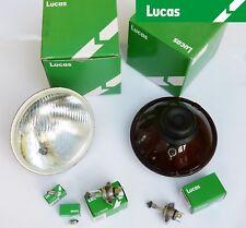 Paire de Lucas Auto Classique RHD Phare avant / avec Pilote + Ampoules, LUB383