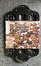 Nonstick Gingerbread Cookie Pan With Flower Design
