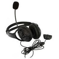 Big Live Headset Headphone With Microphone for XBOX 360 Slim NEW US Black