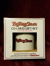 ROLLING STONE MAGAZINE GIFT SET MUG W/CD 80s pop Edition  ~NEW IN BOX~