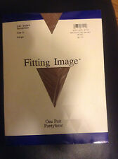 Wow! Vintage Fitting Image beige nude pantyhose size C