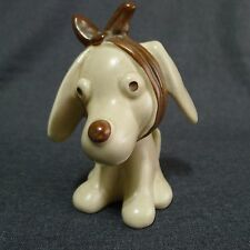 SylvaC Toothache Dog Figuine 3183 Vintage Pottery England Comical 5.25 Inches