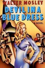 "WALTER MOSELY ""DEVIL IN A BLUE DRESS"" 1990 TRUE 1ST ED HC/DJ NF/NF 1ST BOOK"
