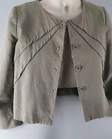 Gorman Khaki Canvas Jacket SZ 8
