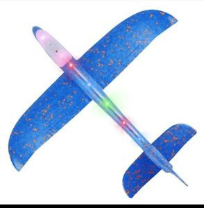 48 CM Hand Throw Airplane EPP Foam Launch fly Glider Planes Model Aircraft Outdo