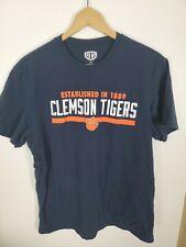 (#11) Clemson University Tigers Tee T-shirt Blue Paw Power
