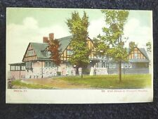 Early 1900's The Club House at Prospect Heights in Peoria, IL Illinois PC