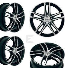 4x 15 Zoll Alufelgen für Alfa Romeo Mito / Dezent TZ dark 6x15 ET38 (B-8700190)