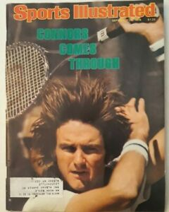 Sports illustrated September 18 1978 jimmy Connors (MB)