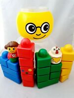 LEGO Duplo Primo Blocks Toy Age 6-12 12-18 18-24 Months and container