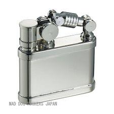 Steampunk Oil Lighter Japanese Duke1 Made JAPAN Nickel Satin F/S Stylish Design