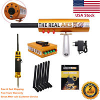 The Real AKS 6 Antennas Gold Detector for Silver Gem Diamond with Filter USA