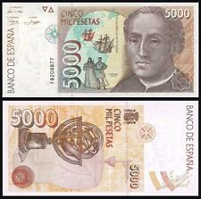 Facsimil Billete 5000 pesetas 1992 - Reproduction