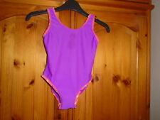 Purple swimsuit / swimming costume, pineapple outline design, PRIMARK, 3-4 years