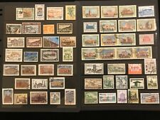 BRIDGES & Buildings   ON STAMPS TOPIC Stamp Collection   FREE SHIPPING