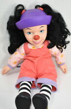 Vintage 1996 Playmates Big Comfy Couch Loonette Vinyl & Plush Clown Doll Cute