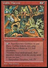 Kindergarten der Goblin - Goblin Warrens MTG MAGIC FE Fallen Empires Eng